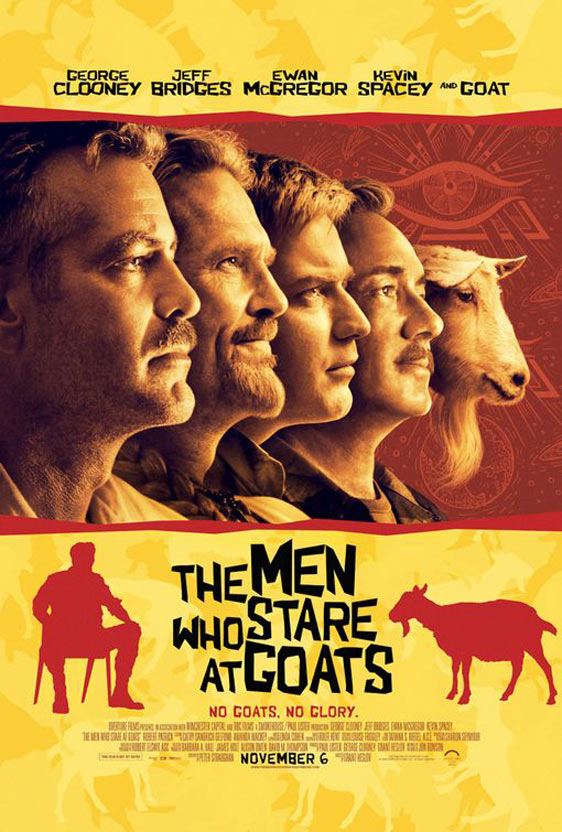 The Men Who Stare at Goats Poster #1