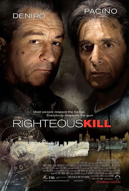 Righteous Kill Poster #3