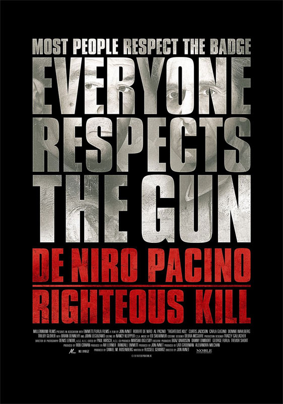 Righteous Kill Poster #4