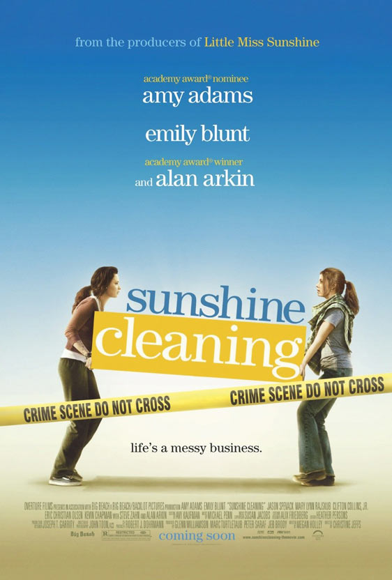 Sunshine Cleaning Poster #1