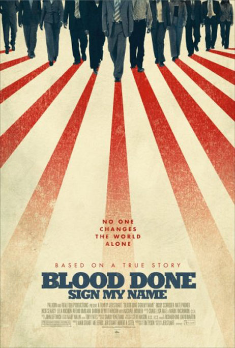 Blood Done Sign My Name Poster #2