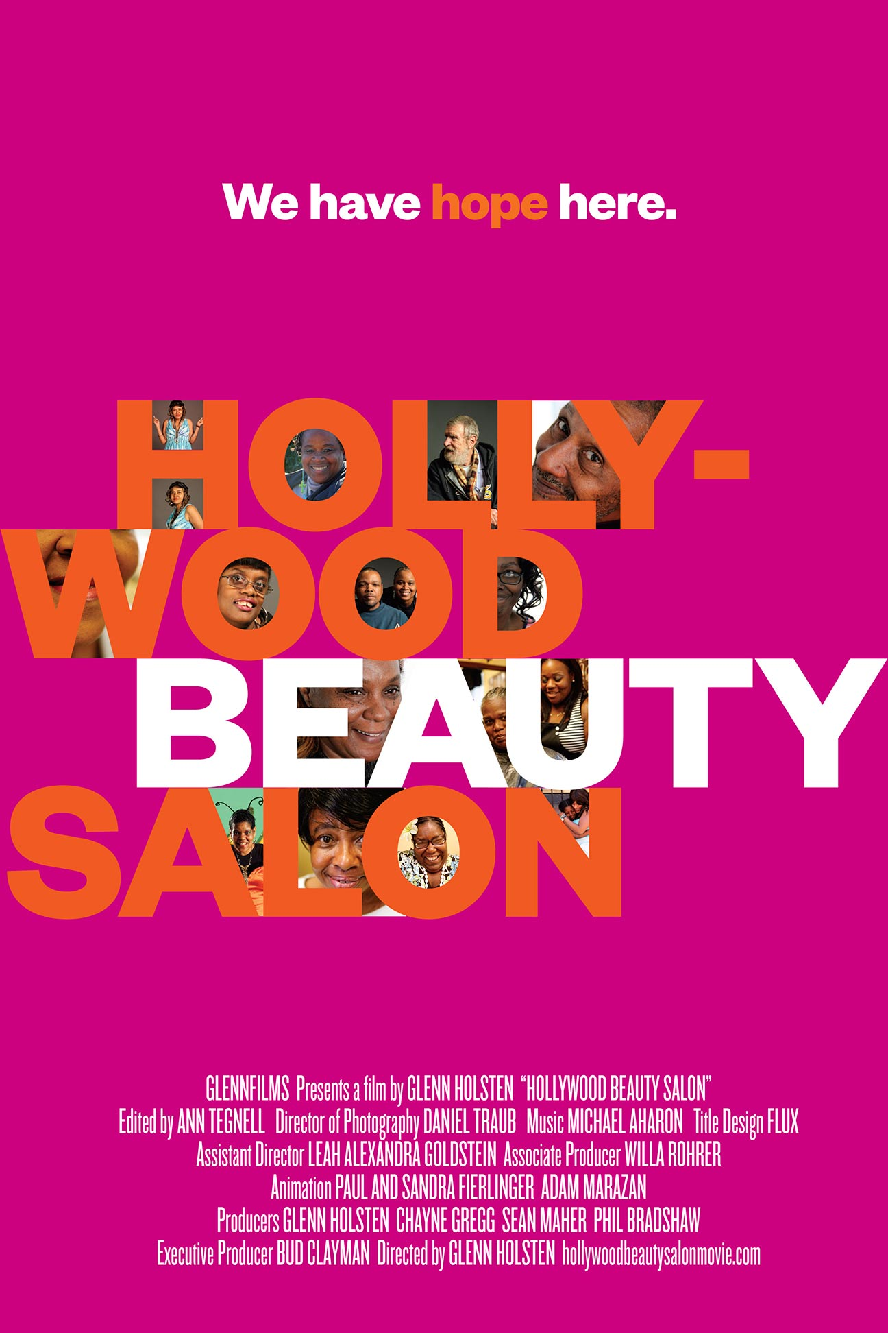 Hollywood Beauty Salon Poster #1