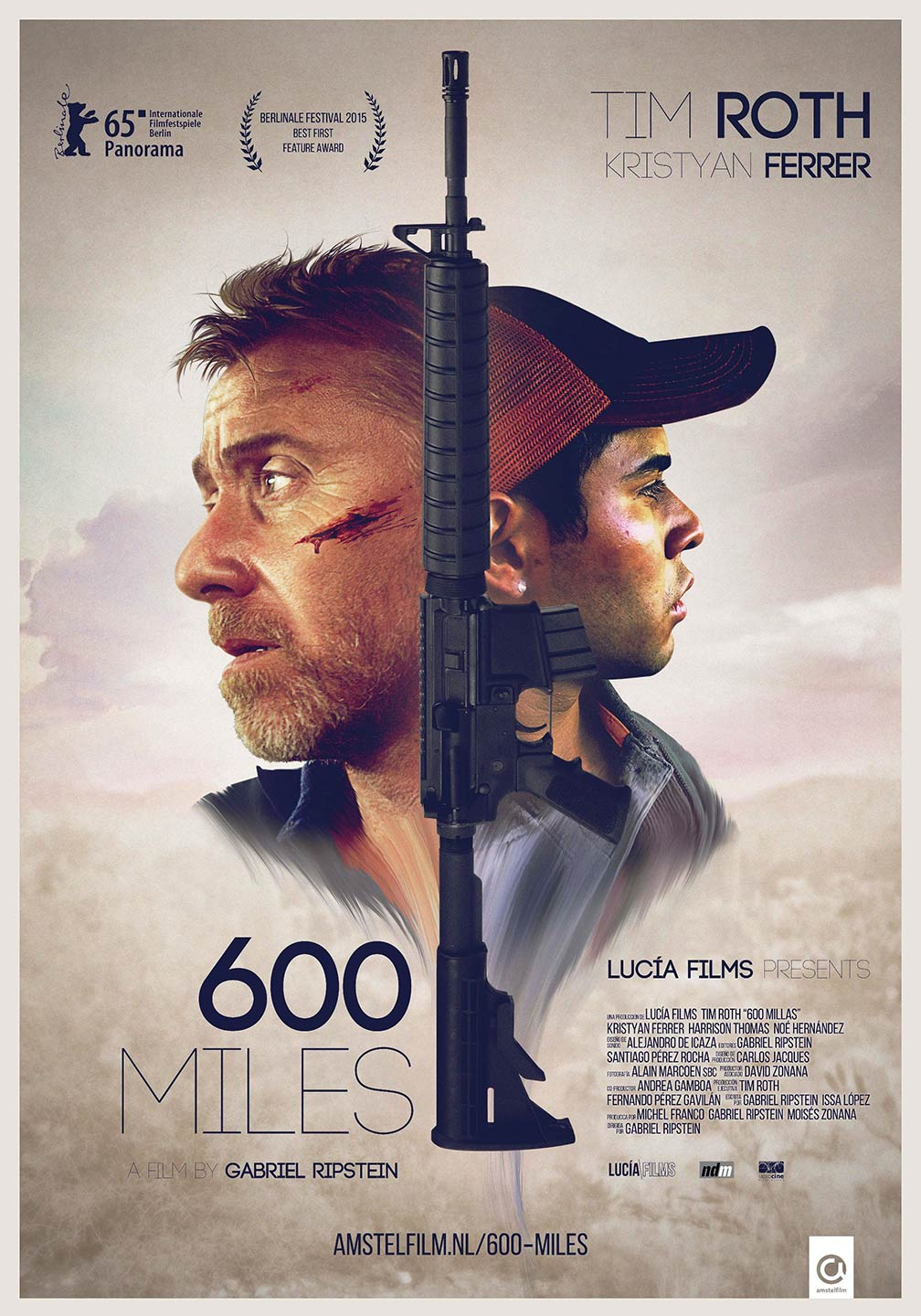 600 Miles Poster #1