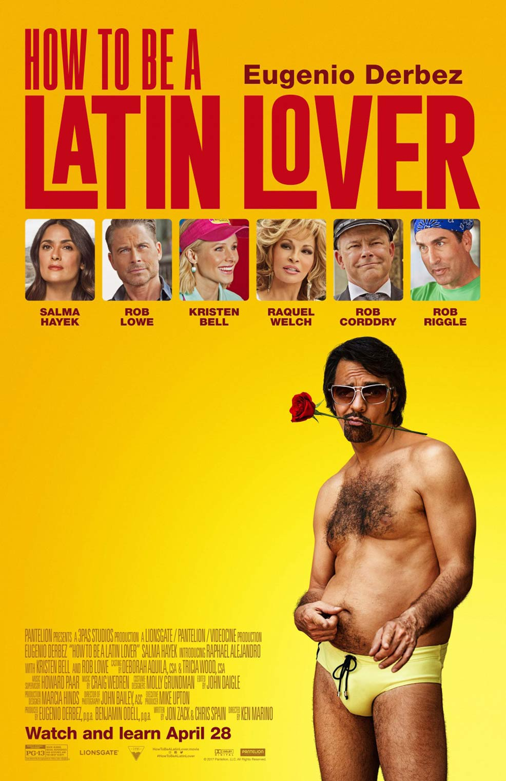How To Be A Latin Lover Poster #4