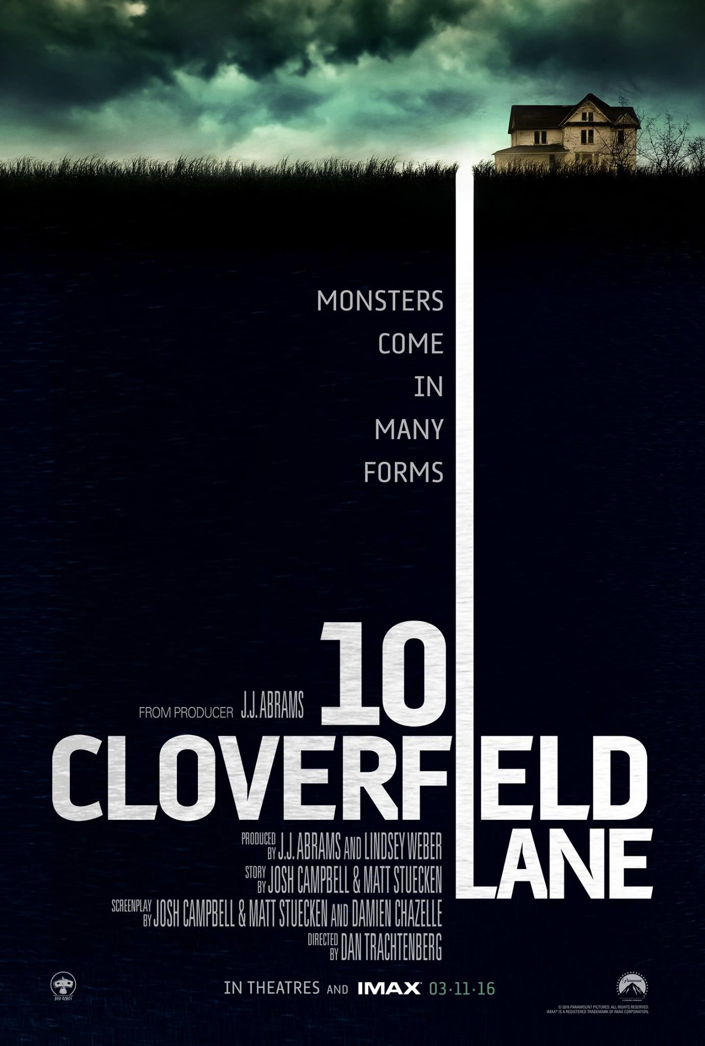 10 Cloverfield Lane Poster #1