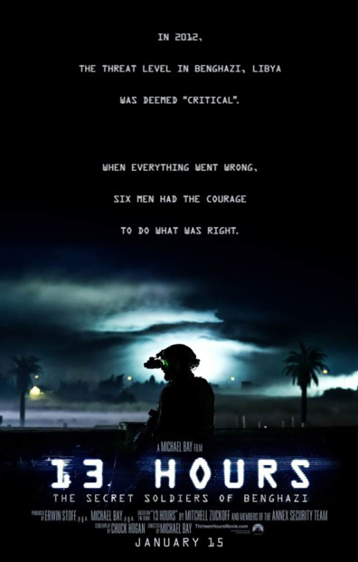 13 Hours: The Secret Soldiers of Benghazi Poster #2