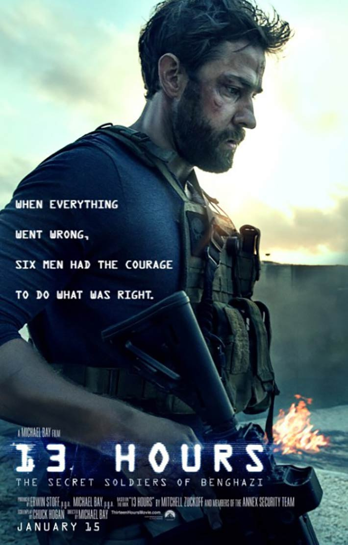 13 Hours: The Secret Soldiers of Benghazi Poster #3