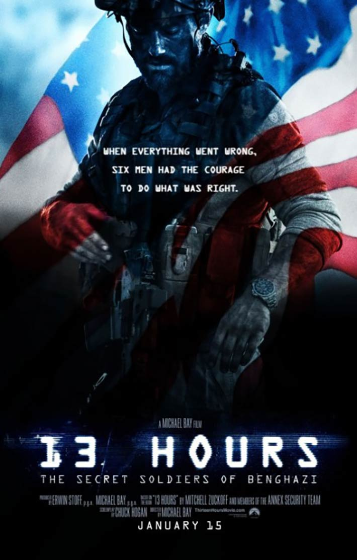 13 Hours: The Secret Soldiers of Benghazi Poster #4