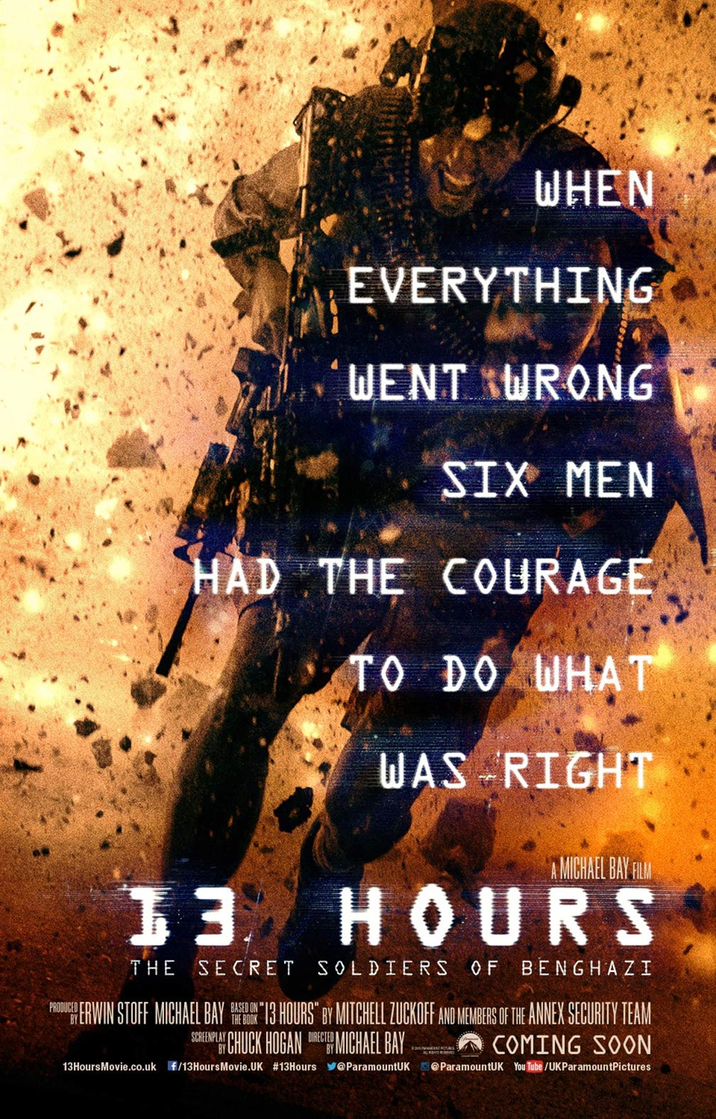 13 Hours: The Secret Soldiers of Benghazi Poster #1