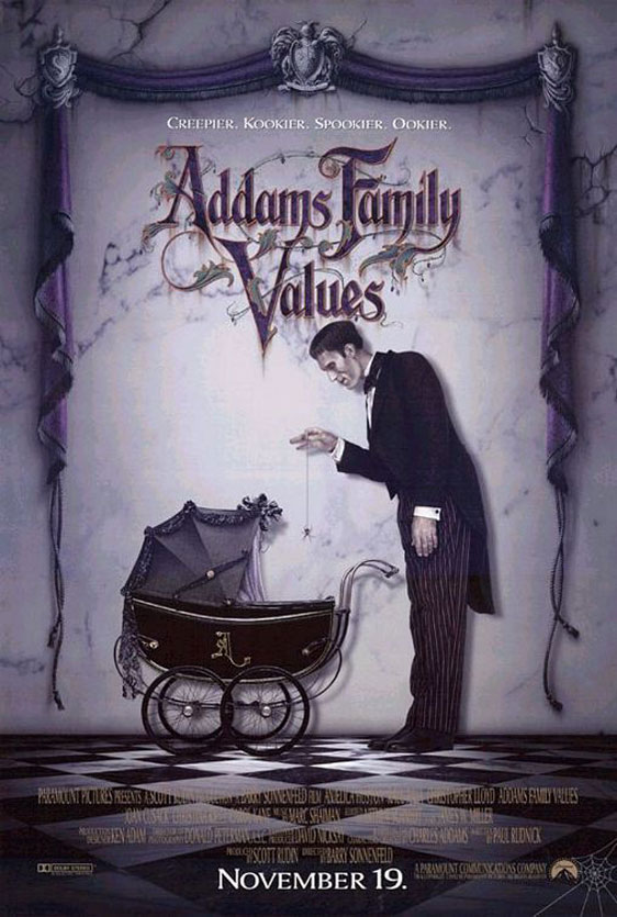 Addams Family Values Poster #2