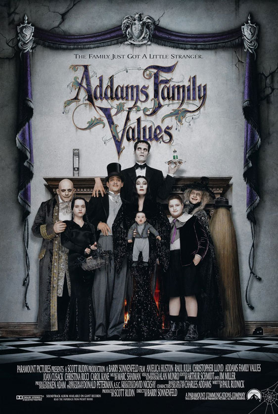 Addams Family Values Poster #1