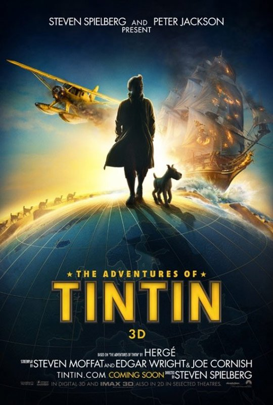 The Adventures of Tintin: The Secret of the Unicorn Poster #2
