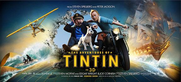 The Adventures of Tintin: The Secret of the Unicorn Poster #4