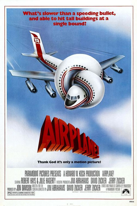 Airplane! Poster #1