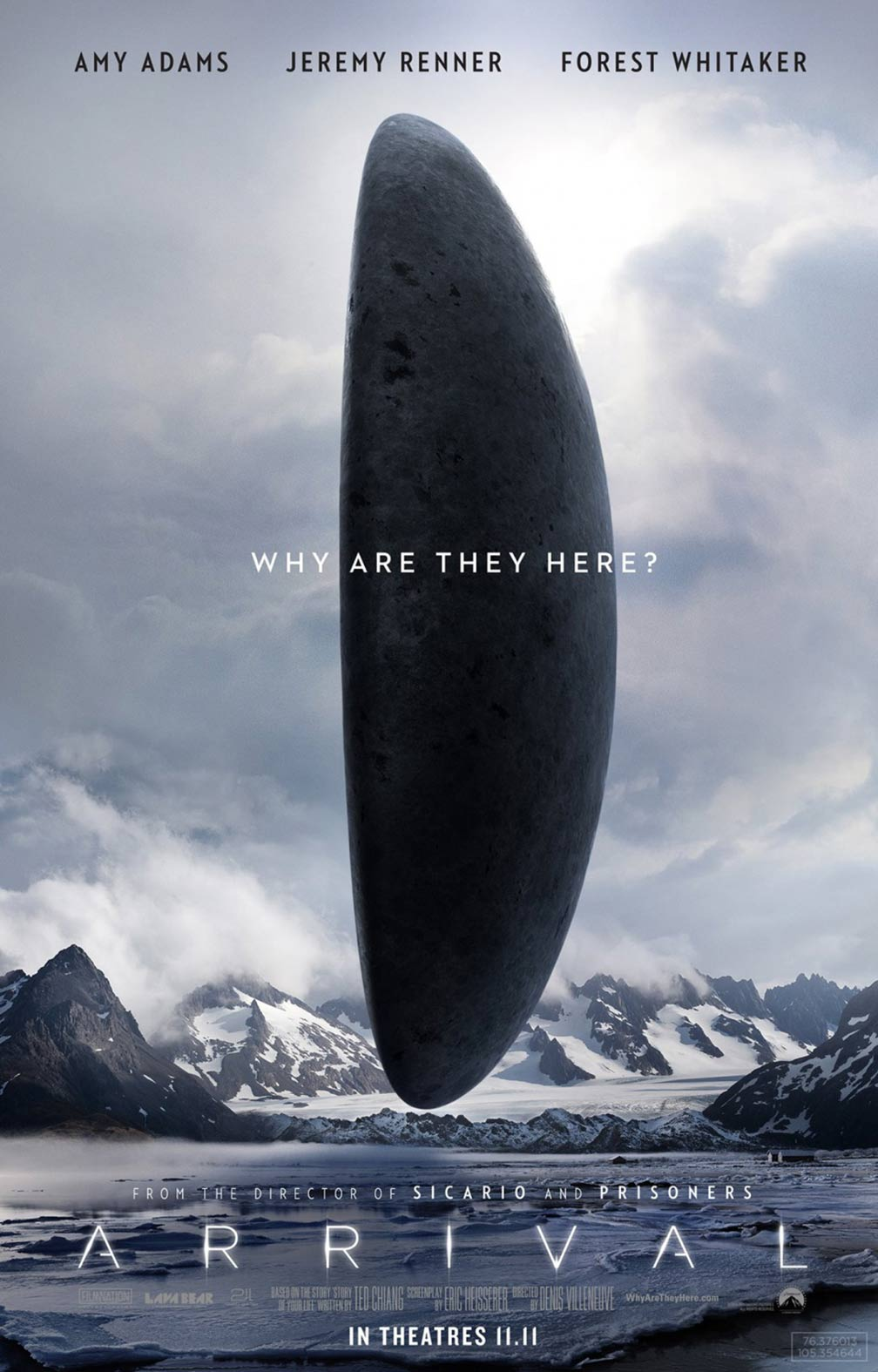 Arrival Poster #3