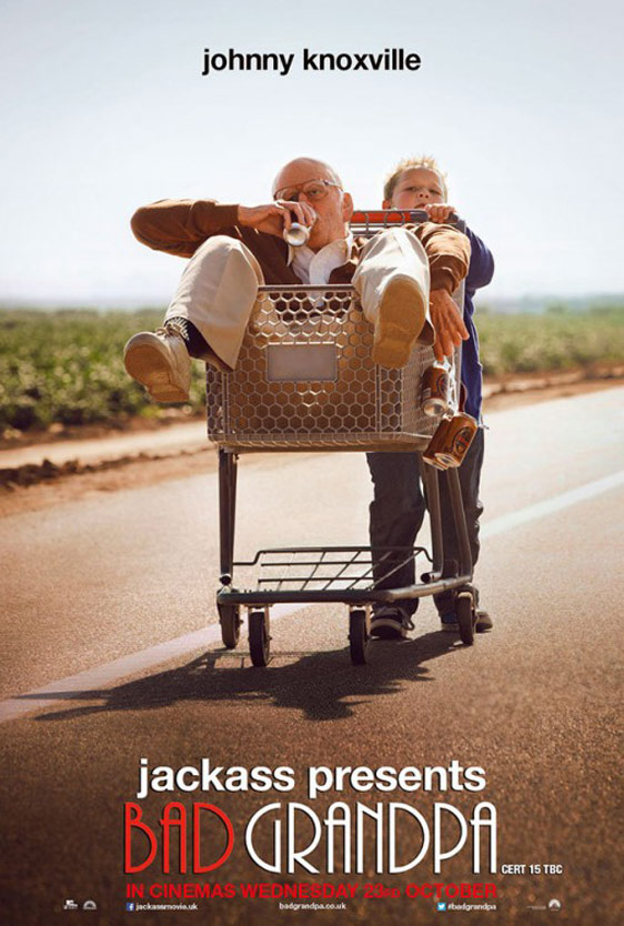 Jackass Presents: Bad Grandpa Poster #2