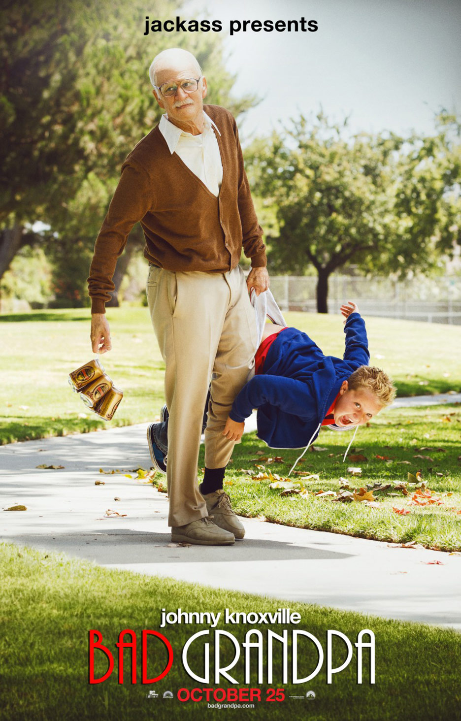 Jackass Presents: Bad Grandpa Poster #3