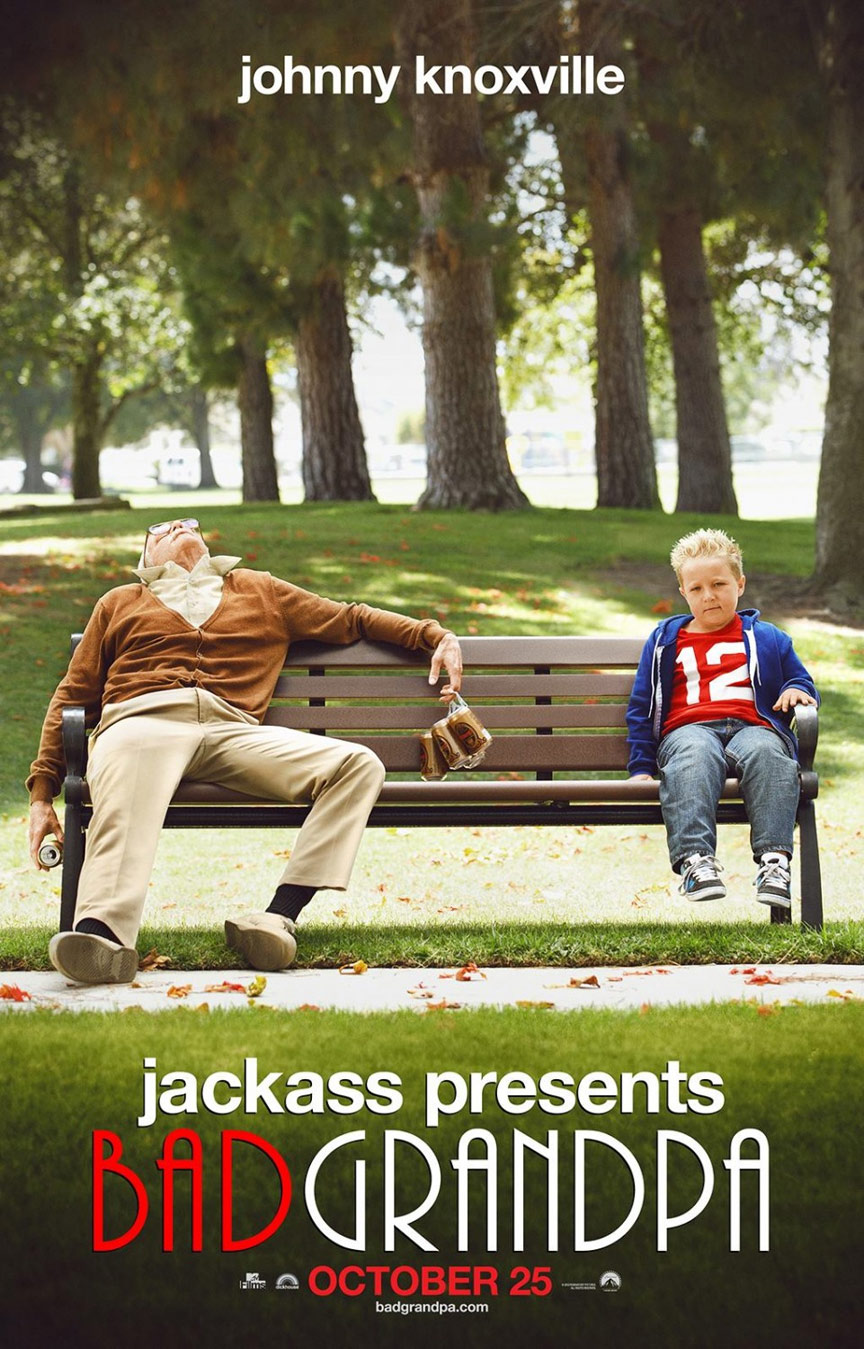 Jackass Presents: Bad Grandpa Poster #1