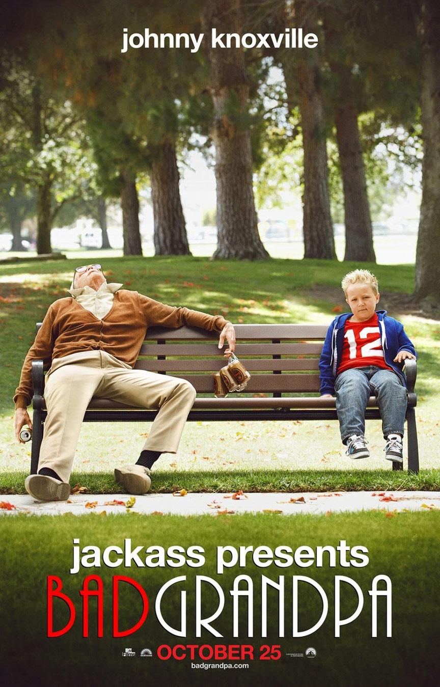 Jackass Presents: Bad Grandpa Poster #1