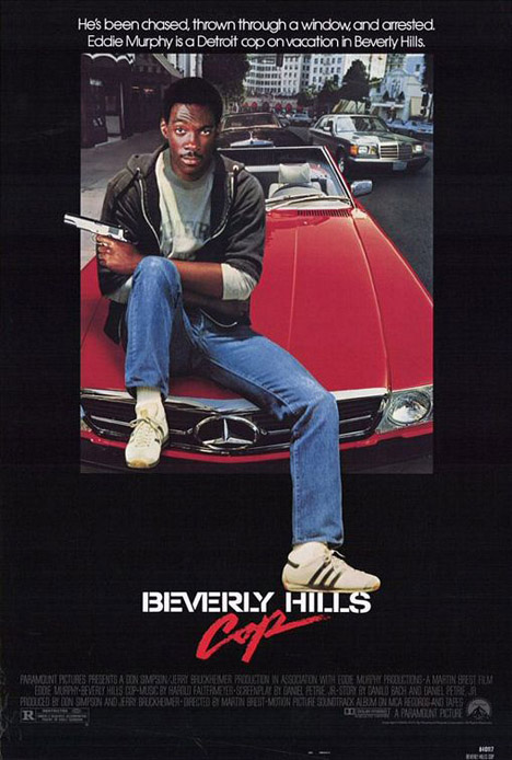 Beverly Hills Cop Poster #1