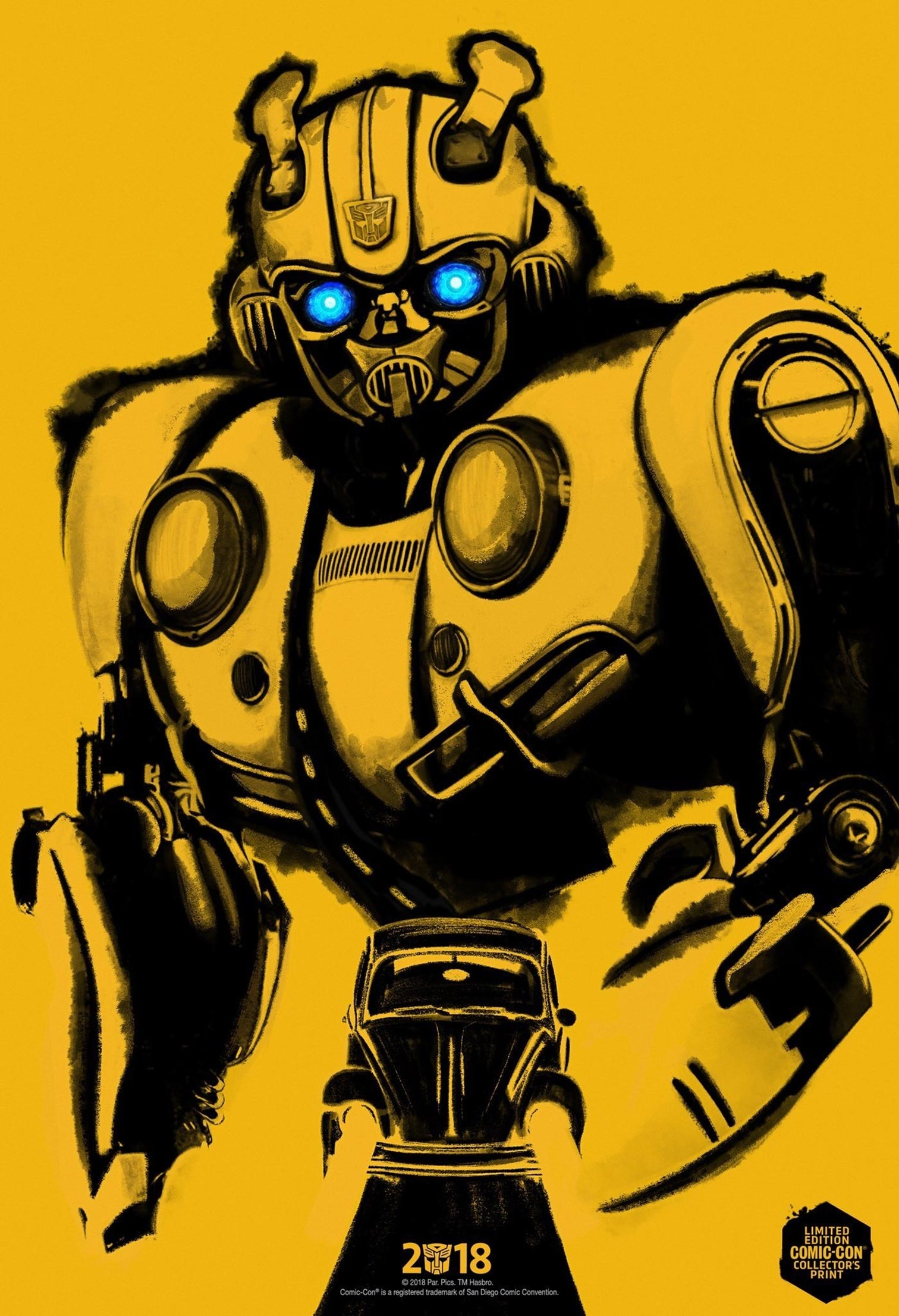 Bumblebee Poster #3