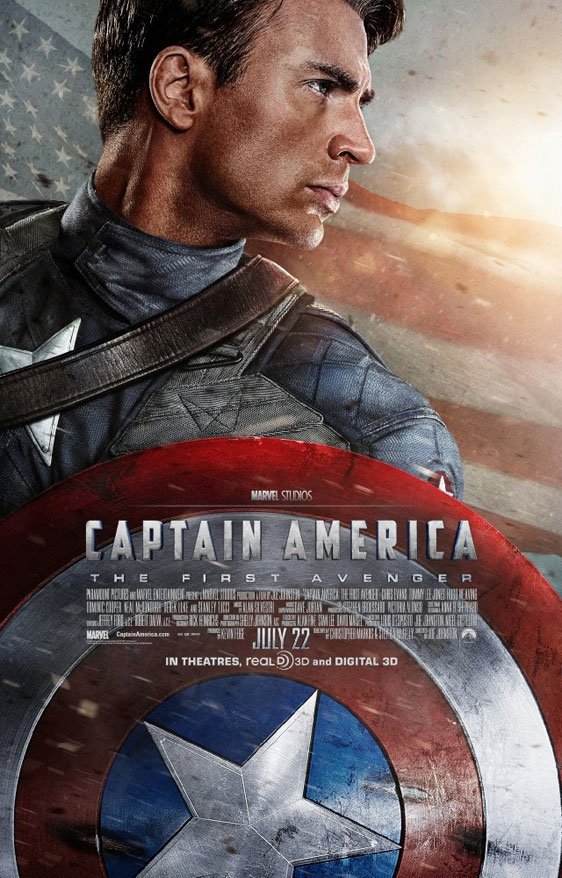 Captain America: The First Avenger Poster #3