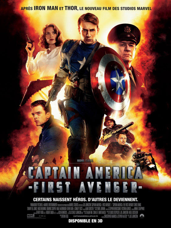 Captain America: The First Avenger Poster #4