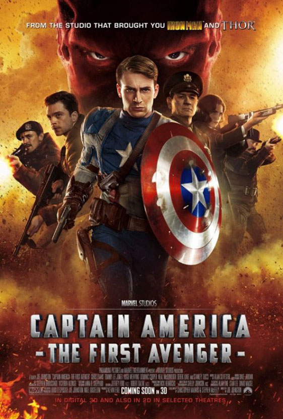 Captain America: The First Avenger Poster #5