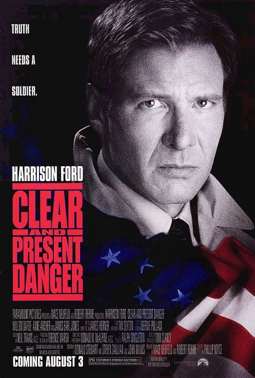 Clear and Present Danger Poster #1