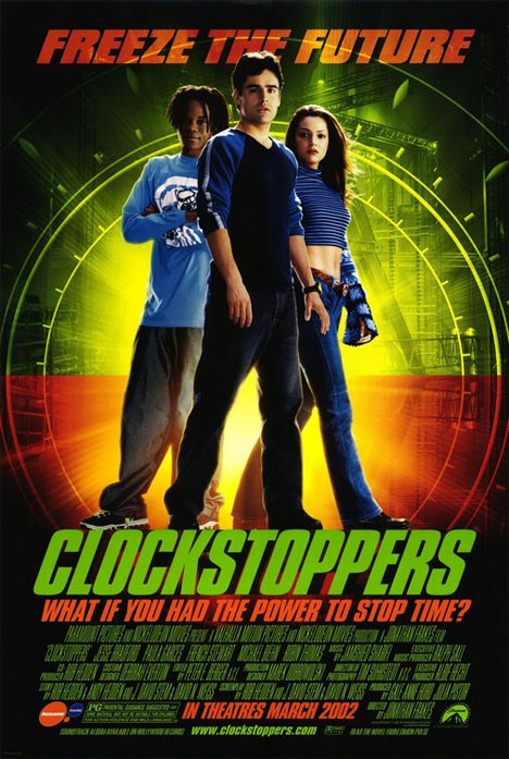 Clockstoppers Poster #1