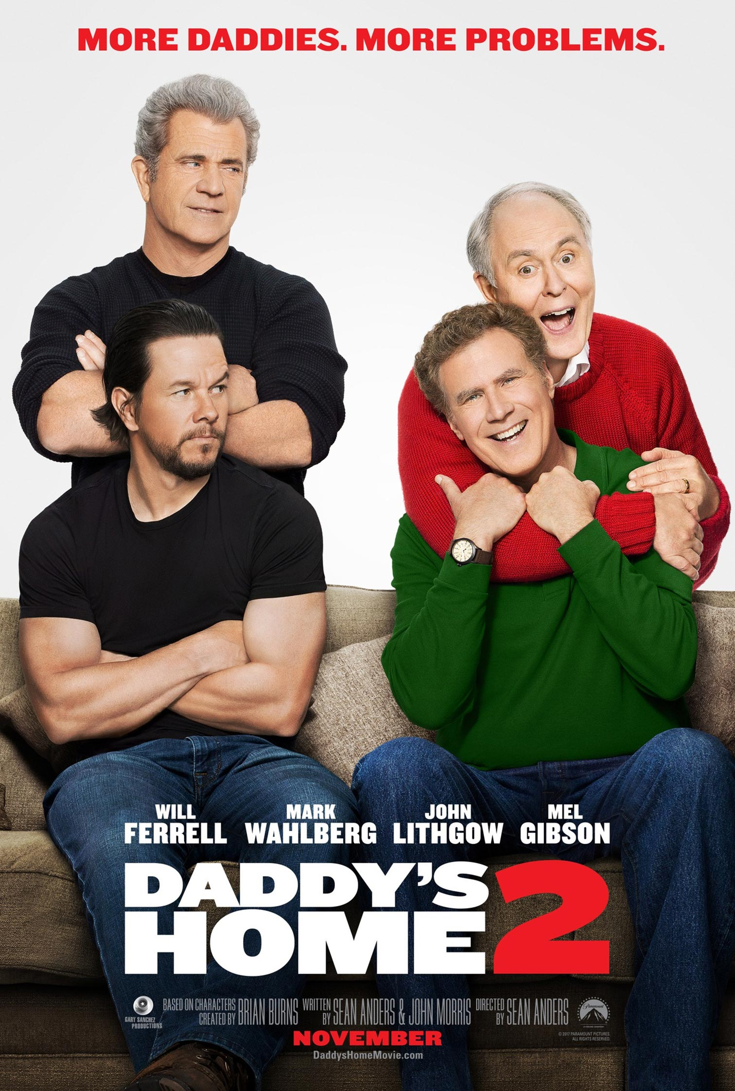 Daddy's Home 2 Poster #1