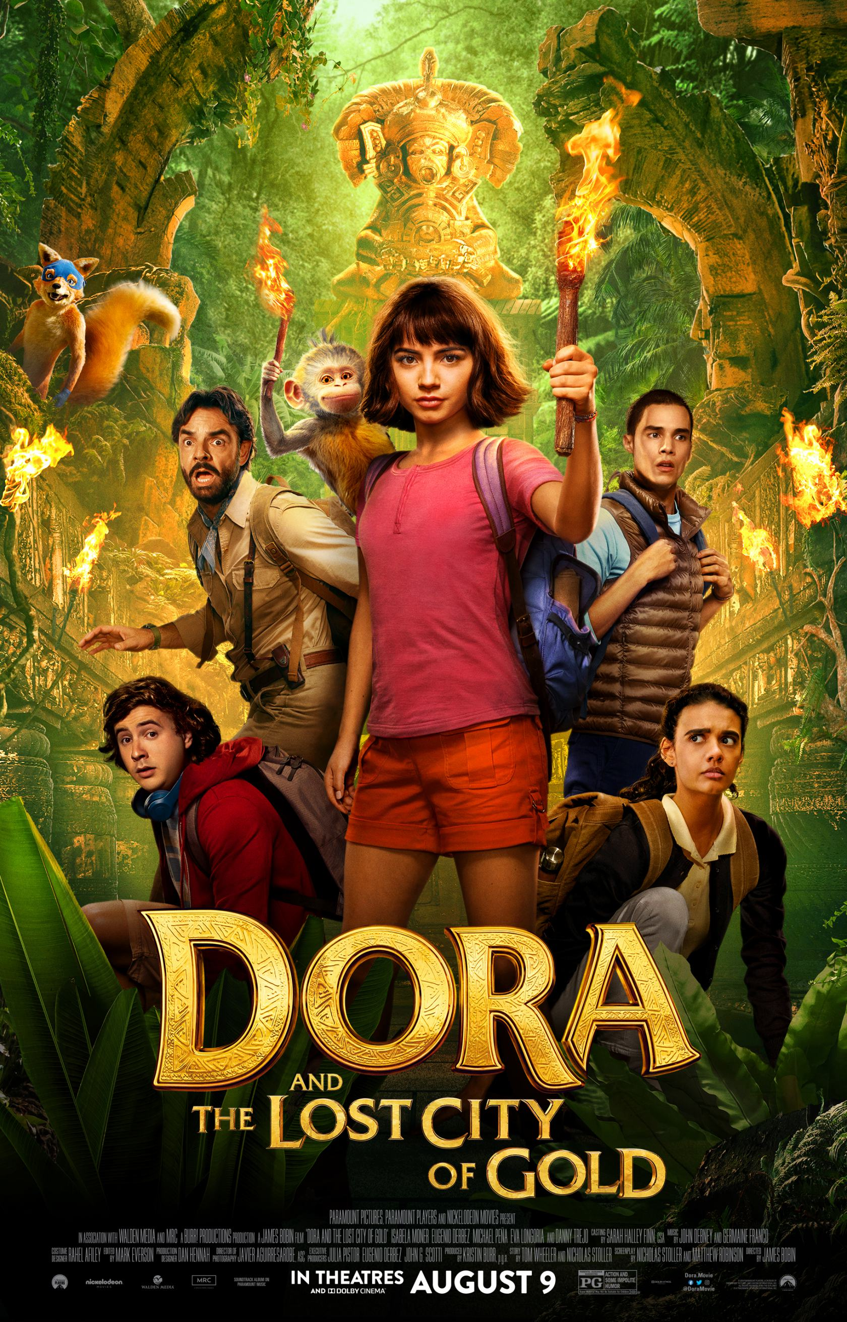 Dora and the Lost City of Gold Poster #1