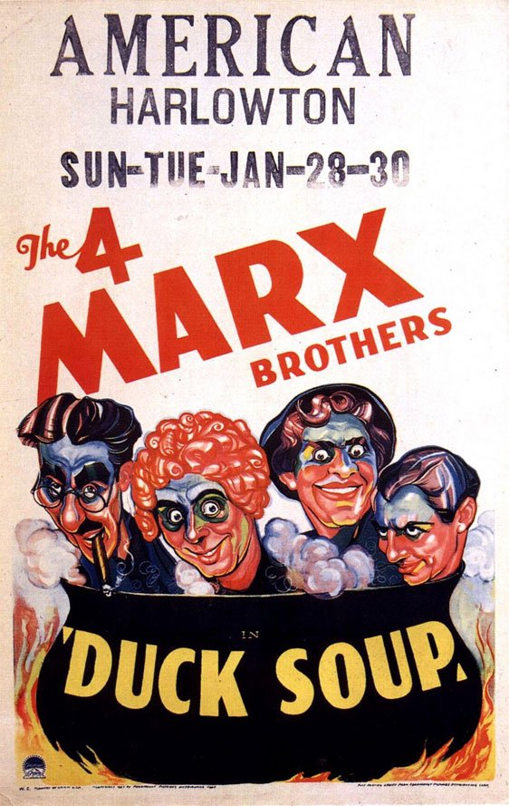 Duck Soup Poster #2