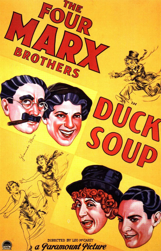 Duck Soup Poster #1