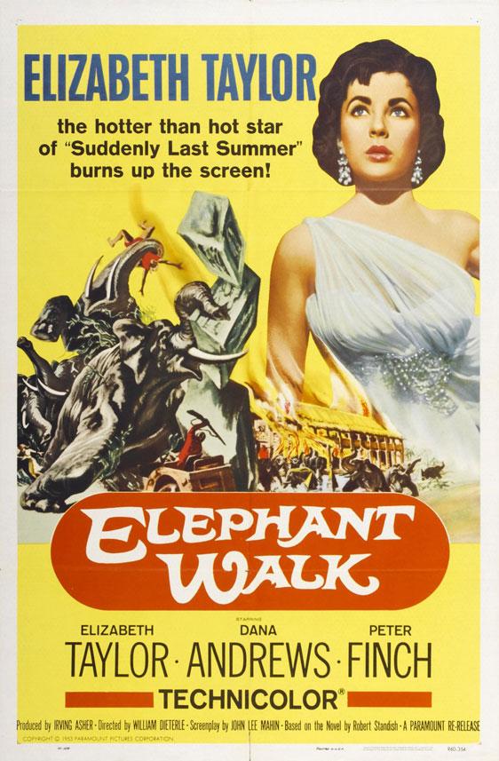 Elephant Walk Poster #1