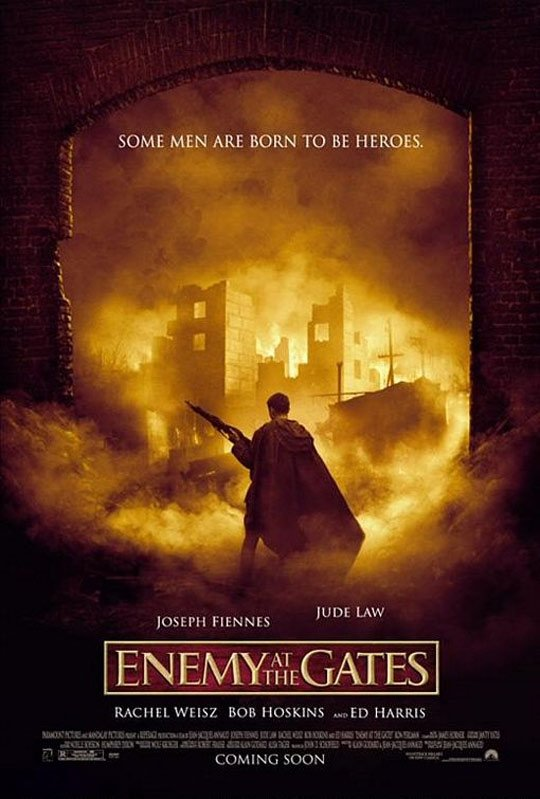 Enemy at the Gates Poster #2
