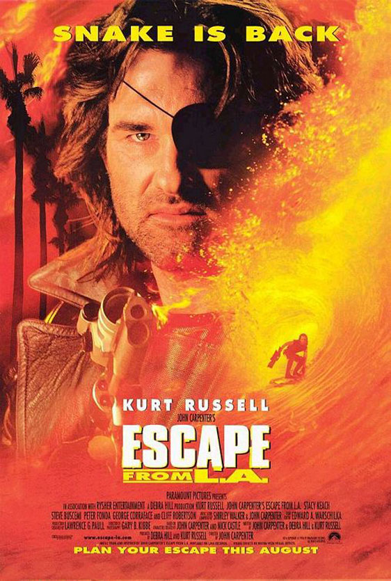Escape from L.A. Poster #1