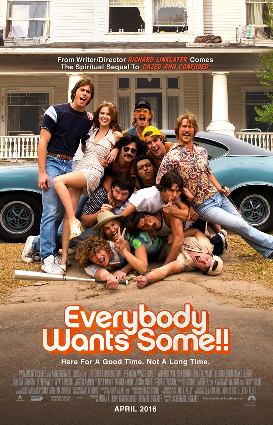 Everybody Wants Some Poster #2