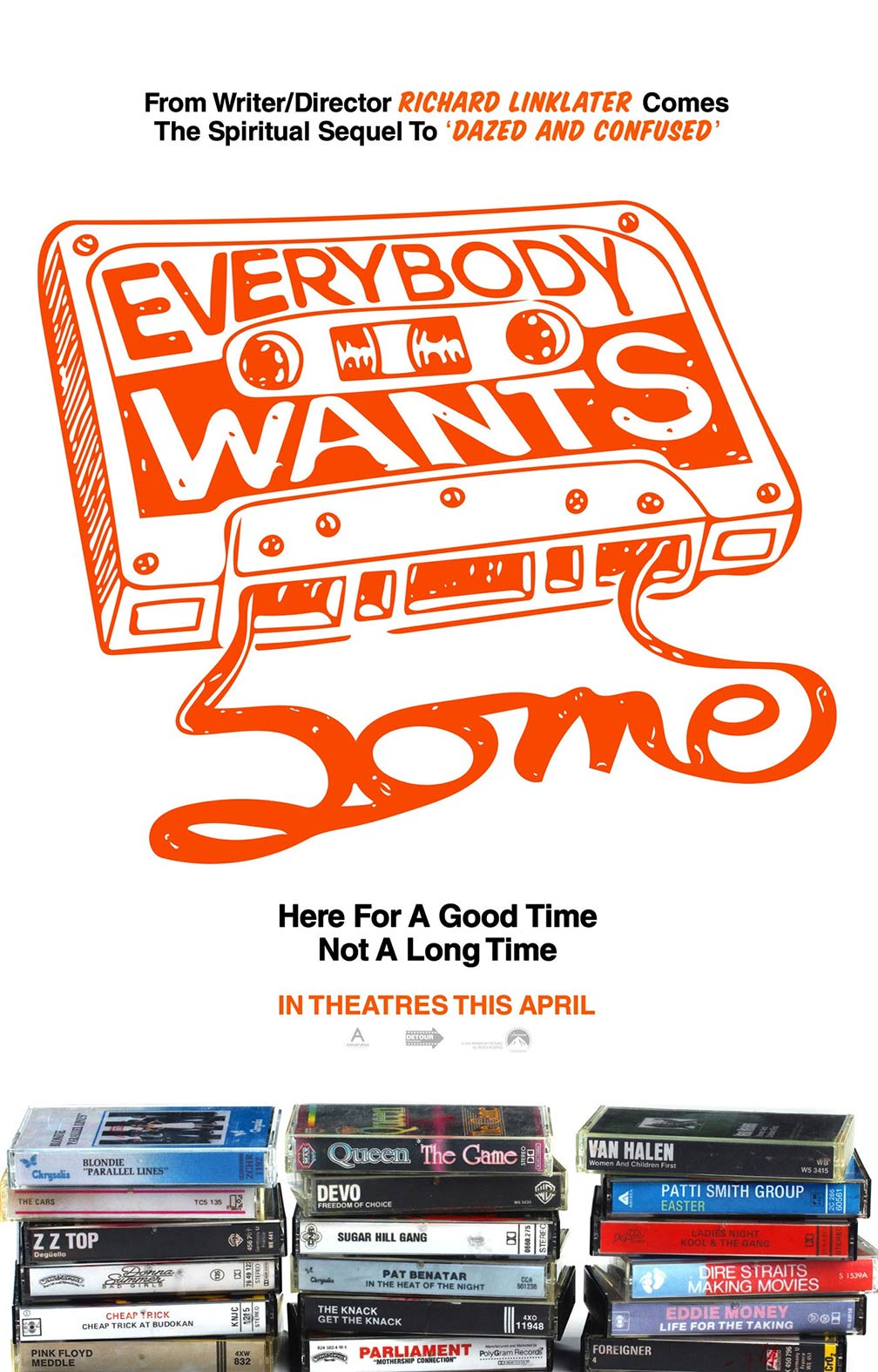 Everybody Wants Some Poster #1