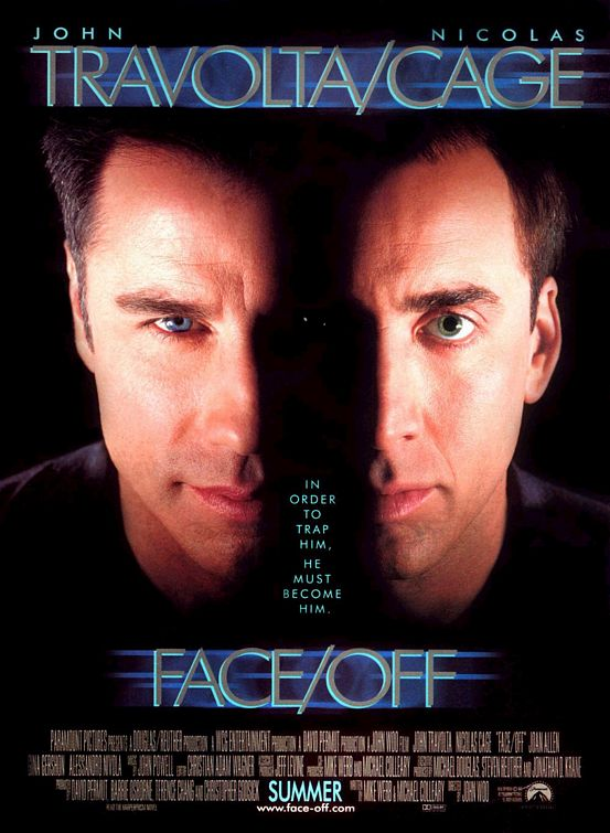 Face/Off Poster #1