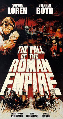The Fall of the Roman Empire Poster #1