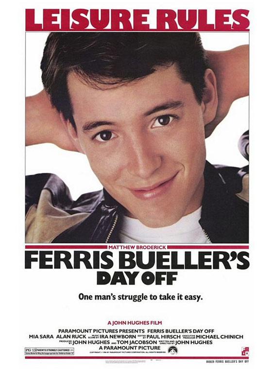Ferris Bueller's Day Off Poster #1