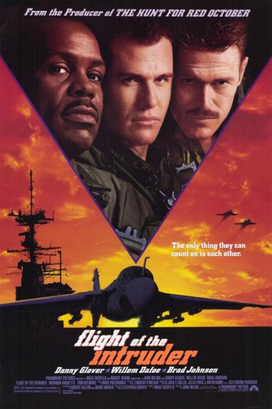 Flight of the Intruder Poster #1