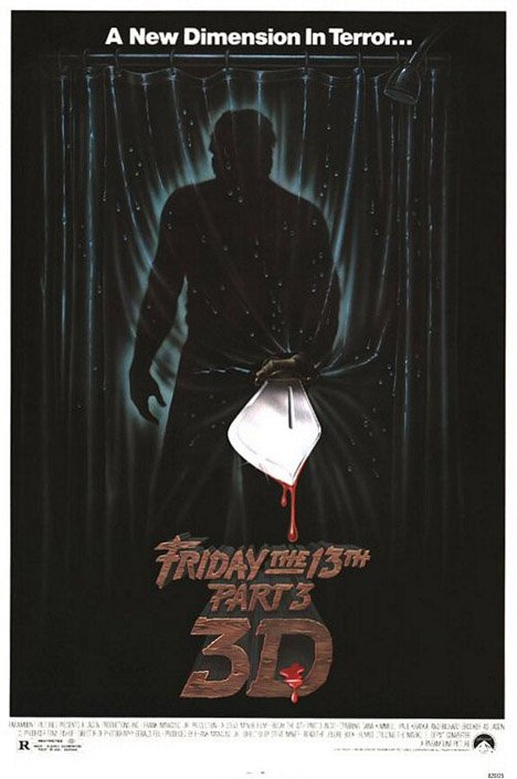 Friday the 13th Part 3 Poster #1