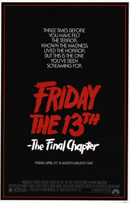 Friday the 13th: The Final Chapter Poster #1