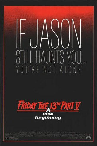 Friday the 13th: A New Beginning Poster #1