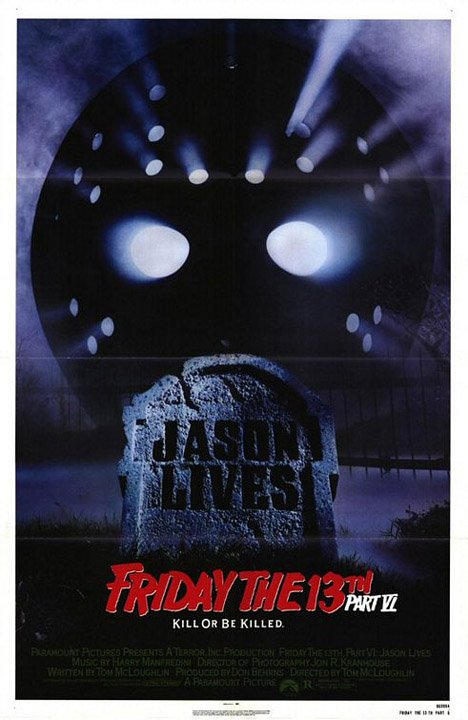 Friday the 13th Part VI: Jason Lives Poster #1