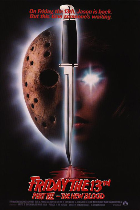 Friday the 13th Part VII: The New Blood Poster #1
