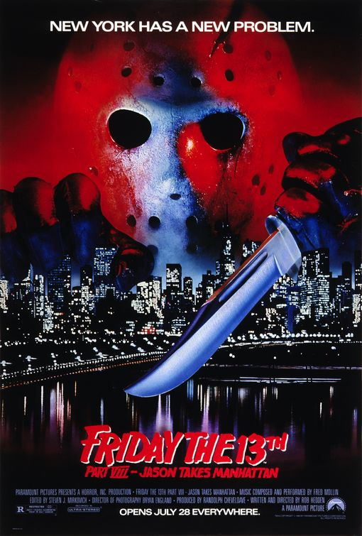 Friday the 13th Part VIII: Jason Takes Manhattan Poster #1
