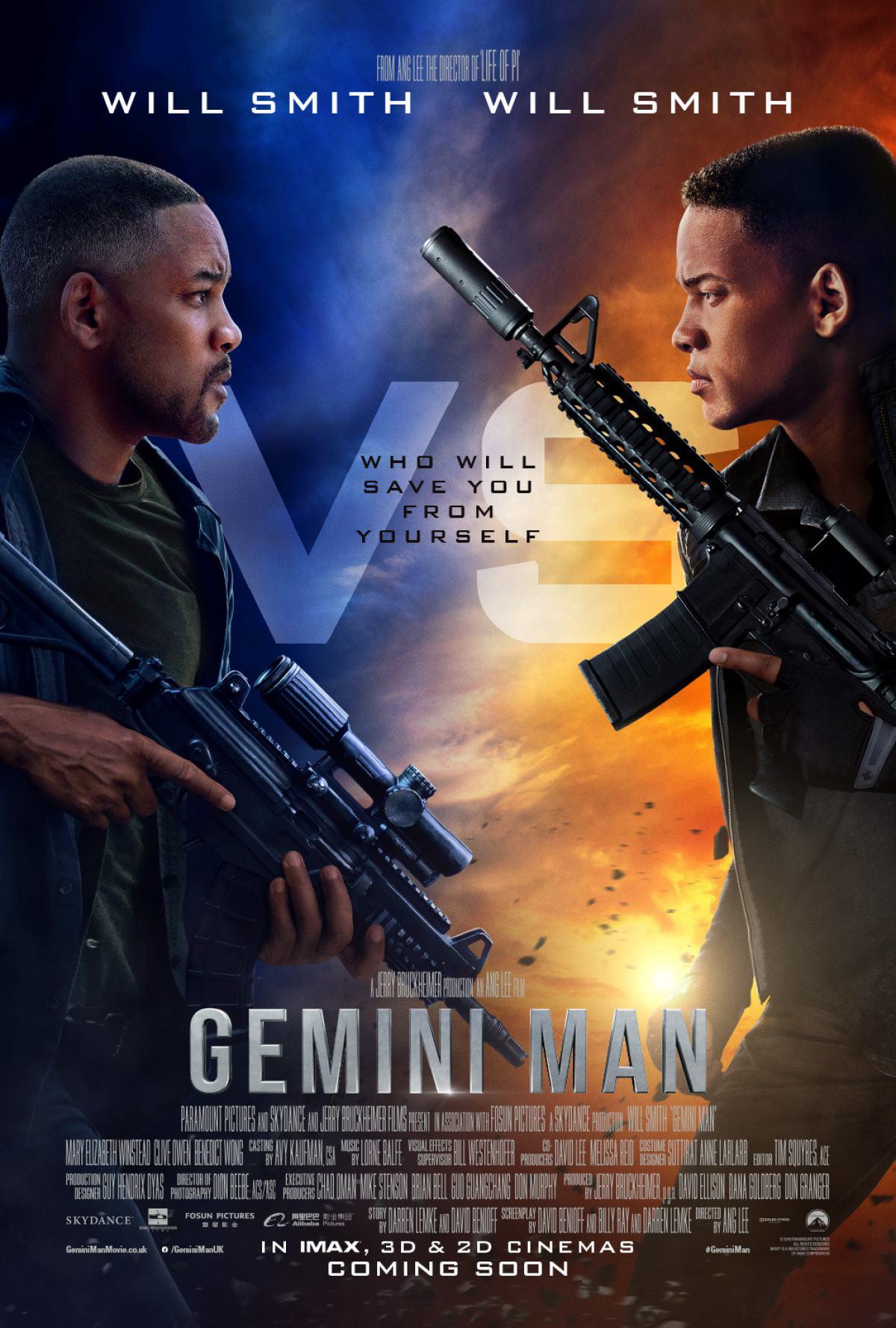 Gemini Man Poster #2